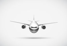 An aeroplane Royalty Free Stock Photo