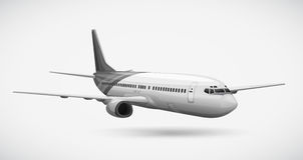 An aeroplane Royalty Free Stock Image