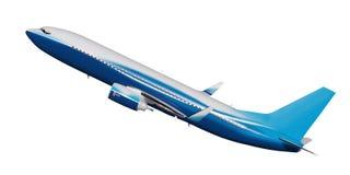 Aeroplane. Isolated on the white background Royalty Free Stock Photos