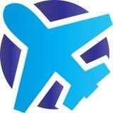 Aeroplane logo concept. Modern Car has been created as vector Royalty Free Stock Image