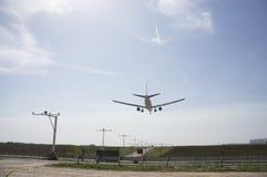 Aeroplane Ready to Landing Royalty Free Stock Image