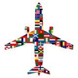 Aeroplane Travel royalty free stock photos