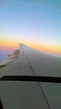 Aeroplane Wing Stock Images