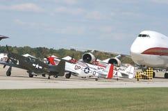 Aeroplanes Stock Image