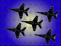Aeroplani illustrazione di stock