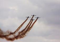 Aeroplani Fotografia Stock