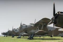 2 aeroplani immagini stock