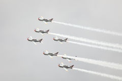 Aeroplani Aerobatic Fotografia Stock Libera da Diritti