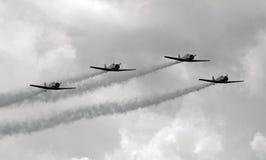 Aeroplani di Vintge Fotografia Stock Libera da Diritti