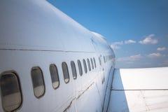 Aeroplano fotografía de archivo