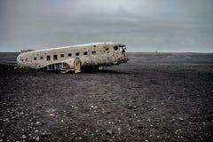 Aeroplano abbandonato Immagini Stock
