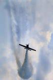 Aeroplano acrobático Imagen de archivo libre de regalías