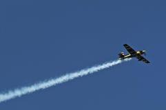Aeroplano acrobatico Immagine Stock Libera da Diritti