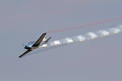 Aeroplano aeroacrobacia Imágenes de archivo libres de regalías