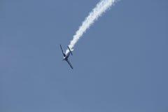 Aeroplano Aerobatic Fotografie Stock