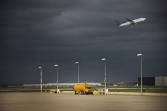 Aeroplano/aeropuerto Foto de archivo