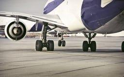 Aeroplano/aeropuerto Fotografía de archivo libre de regalías