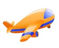 Aeroplano aislado del juguete Foto de archivo libre de regalías