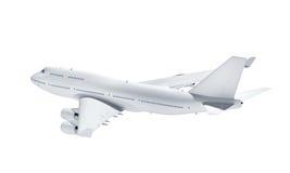 Aeroplano aislado en el fondo blanco libre illustration