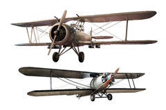 Aeroplano antico immagine stock libera da diritti