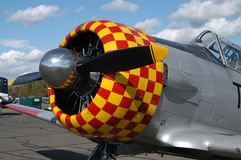 Aeroplano antiguo foto de archivo libre de regalías