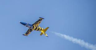 Aeroplano báltico de la abeja Fotos de archivo