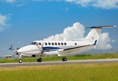 Aeroplano chiaro Immagine Stock