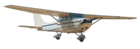 Aeroplano chiaro Fotografia Stock