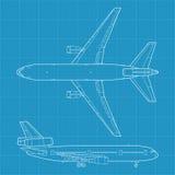 Aeroplano civil moderno libre illustration