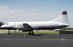 Aeroplano classico a partire dagli anni 50 Fotografie Stock