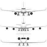 Aeroplano comercial Foto de archivo libre de regalías
