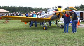 Aeroplano commemorativo dell'aeronautica Immagini Stock Libere da Diritti