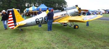 Aeroplano commemorativo dell'aeronautica Immagine Stock