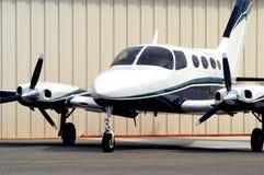 Aeroplano corporativo Fotografie Stock Libere da Diritti