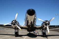 Aeroplano DC3 Fotografia Stock Libera da Diritti