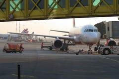 Aeroplano de Air Berlin Foto de archivo