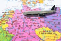 Aeroplano de Berlin Germany Imagenes de archivo