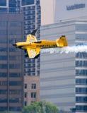 Aeroplano de Breitling de la raza del aire de Red Bull Fotos de archivo libres de regalías
