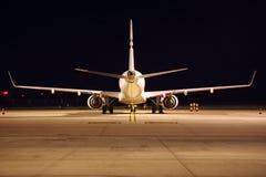 Aeroplano de detrás foto de archivo libre de regalías