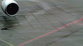 Aeroplano de KLM almacen de metraje de vídeo