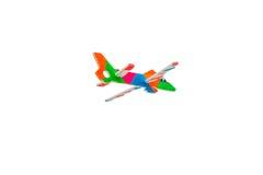 Aeroplano de la espuma Imagen de archivo libre de regalías