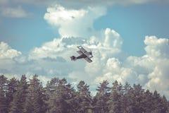 Aeroplano de la guerra fotografía de archivo libre de regalías