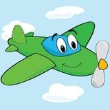 Aeroplano de la historieta libre illustration
