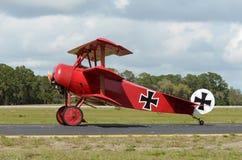 Aeroplano de la Primera Guerra Mundial Fotografía de archivo