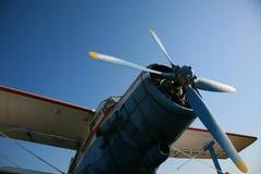 Aeroplano de la vendimia fotografía de archivo