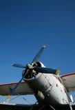 Aeroplano de la vendimia fotos de archivo libres de regalías