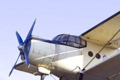Aeroplano de la vendimia Fotos de archivo