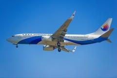 Aeroplano de las líneas aéreas de China Dongnan Fotografía de archivo libre de regalías