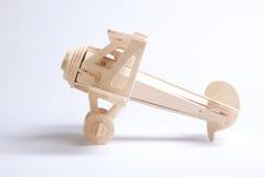 Aeroplano de madera Imagen de archivo libre de regalías