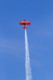 Aeroplano de Oracle en la demostración de aire de Chicago fotografía de archivo libre de regalías